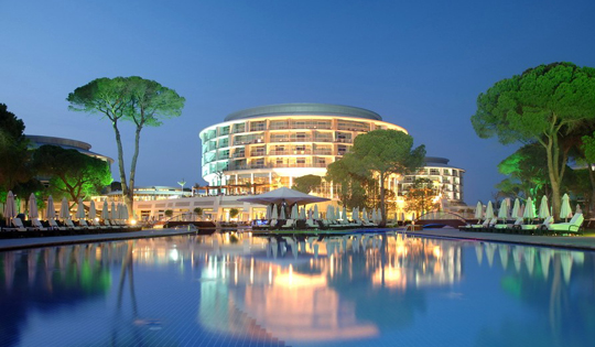CALISTA LUXURY RESORT HOTEL - ANTALYA / TURKEY