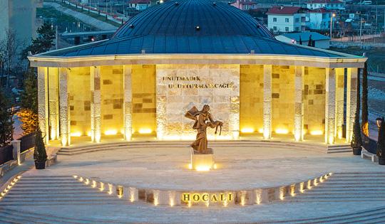 KIZILCAHAMAM KHODZHALI MUSEUM - ANKARA/TURKEY